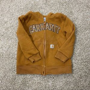 Kids Carhartt 2T zip up hoodie sweater